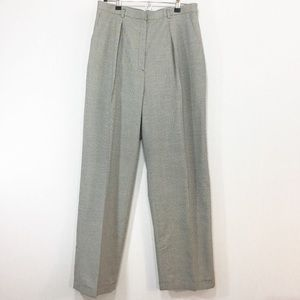 Vintage Jones New York Micro Houndstooth Trousers